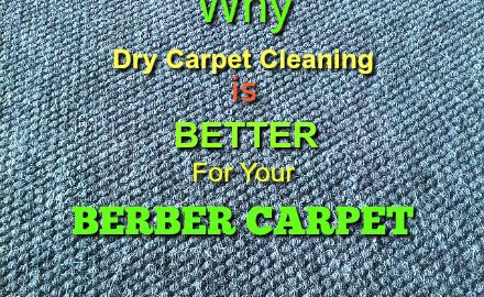 Dry carpet cleaning services